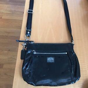 Coach Bags - Black leather Coach side body bag